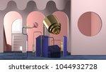 3d rendering of abstract... | Shutterstock . vector #1044932728