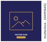 picture vector icon illustration