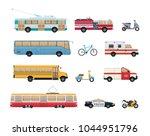 set of urban transport. city...   Shutterstock .eps vector #1044951796