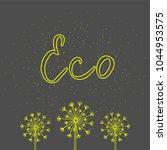 eco green icon.   Shutterstock .eps vector #1044953575