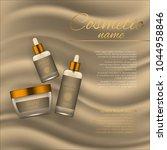 vector 3d cosmetic illustration ... | Shutterstock .eps vector #1044958846