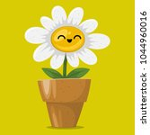 illustration of a happy funny... | Shutterstock .eps vector #1044960016