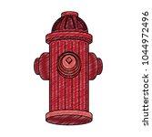 hydrant emergency equipment | Shutterstock .eps vector #1044972496