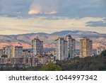 city view to typical...   Shutterstock . vector #1044997342