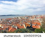top view of the city of lisbon. | Shutterstock . vector #1045055926