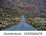 horizontal  telephoto frame of... | Shutterstock . vector #1045060678