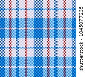 plaid bag. seamless pattern....   Shutterstock .eps vector #1045077235