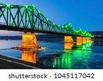 rydz smigly bridge in wloclawek.... | Shutterstock . vector #1045117042