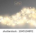 vector eps 10 isolated yellow... | Shutterstock .eps vector #1045134892
