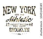 camouflage t shirt design.... | Shutterstock .eps vector #1045148185