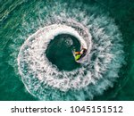 people are playing jet ski at... | Shutterstock . vector #1045151512