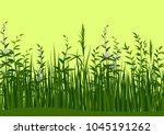 seamless horizontal background  ...   Shutterstock . vector #1045191262