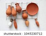 seville  spain   traditional... | Shutterstock . vector #1045230712