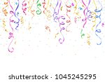festive design. border of... | Shutterstock . vector #1045245295