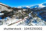 train oslo   bergen in...   Shutterstock . vector #1045250302