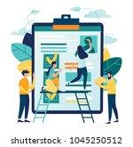 vector illustration design... | Shutterstock .eps vector #1045250512