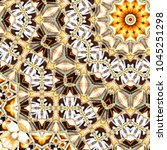 colorful pattern for textile ... | Shutterstock . vector #1045251298