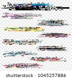 vector illustration set of... | Shutterstock .eps vector #1045257886