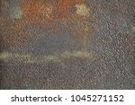 steel sheet with stain... | Shutterstock . vector #1045271152