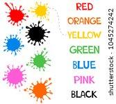 worksheet match similar color... | Shutterstock . vector #1045274242