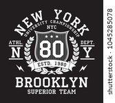 New York  Brooklyn Typography...