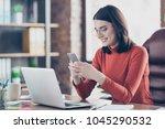 watvideo read employee side...   Shutterstock . vector #1045290532