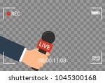 background with camera frame... | Shutterstock .eps vector #1045300168
