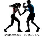 personal trainer man coach and... | Shutterstock . vector #104530472