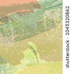 abstract khaki background.... | Shutterstock .eps vector #1045320862