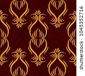 endless abstract pattern.... | Shutterstock .eps vector #1045352716