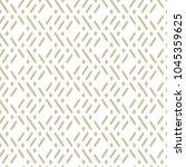 vector golden geometric... | Shutterstock .eps vector #1045359625