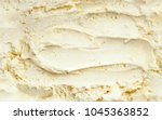 top view of vanilla ice cream... | Shutterstock . vector #1045363852