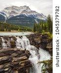 Small photo of Athabasca Falls in Jasper National Park, Alberta, Canada