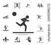 running man icon. detailed set...   Shutterstock .eps vector #1045398172