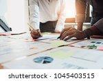 business people meeting design... | Shutterstock . vector #1045403515