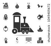 childrean train icon. detailed... | Shutterstock .eps vector #1045405672