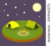 cartoon flat illustration   two ... | Shutterstock .eps vector #1045463272