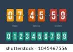 Flip Countdown Clock Counter...