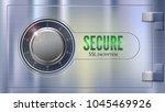 secure ssl connection. concept... | Shutterstock .eps vector #1045469926
