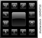 vector webshop icon set | Shutterstock .eps vector #10454710