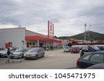 gorna oryahovitsa   december 16 ... | Shutterstock . vector #1045471975