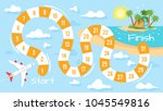 vector cartoon style... | Shutterstock .eps vector #1045549816