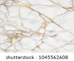 marble with golden texture... | Shutterstock .eps vector #1045562608
