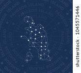 pangkor island network style... | Shutterstock .eps vector #1045571446