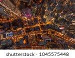 aerial view of central district ... | Shutterstock . vector #1045575448