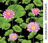 seamless pattern  background... | Shutterstock .eps vector #1045591645