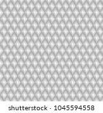white geometric shape abstract... | Shutterstock .eps vector #1045594558
