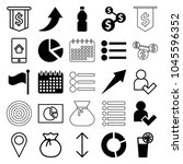 ui icons. set of 25 editable...