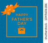 happy father's day sale. vector ... | Shutterstock .eps vector #1045606186