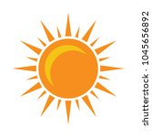 sun sign icon  vector sunlight  ... | Shutterstock .eps vector #1045656892